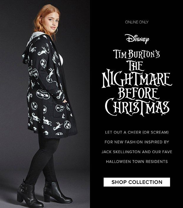 0f243fa626f7 Fairytale Fashion   The Nightmare Before Christmas  Collection By Torrid